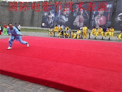 990年入河南嵩山少林寺武术学校拜释小龙的父亲陈同山老师苦练少