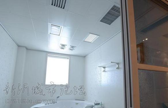 卫生间吊顶装修材料有集成吊顶 铝扣板吊顶 PVC板吊顶 铝塑板吊顶